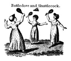 ancetre du badminton