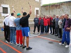 Badminton en prison
