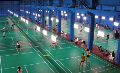 terrain badminton